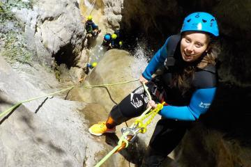 Canyoning dans le Verdon : le canyon du Riou avec ROCKSIDERS