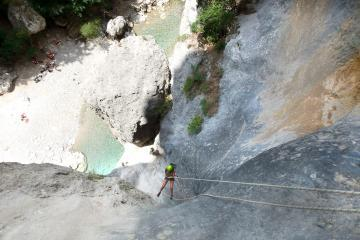 Canyoning dans la Ferné - Gorges du Verdon