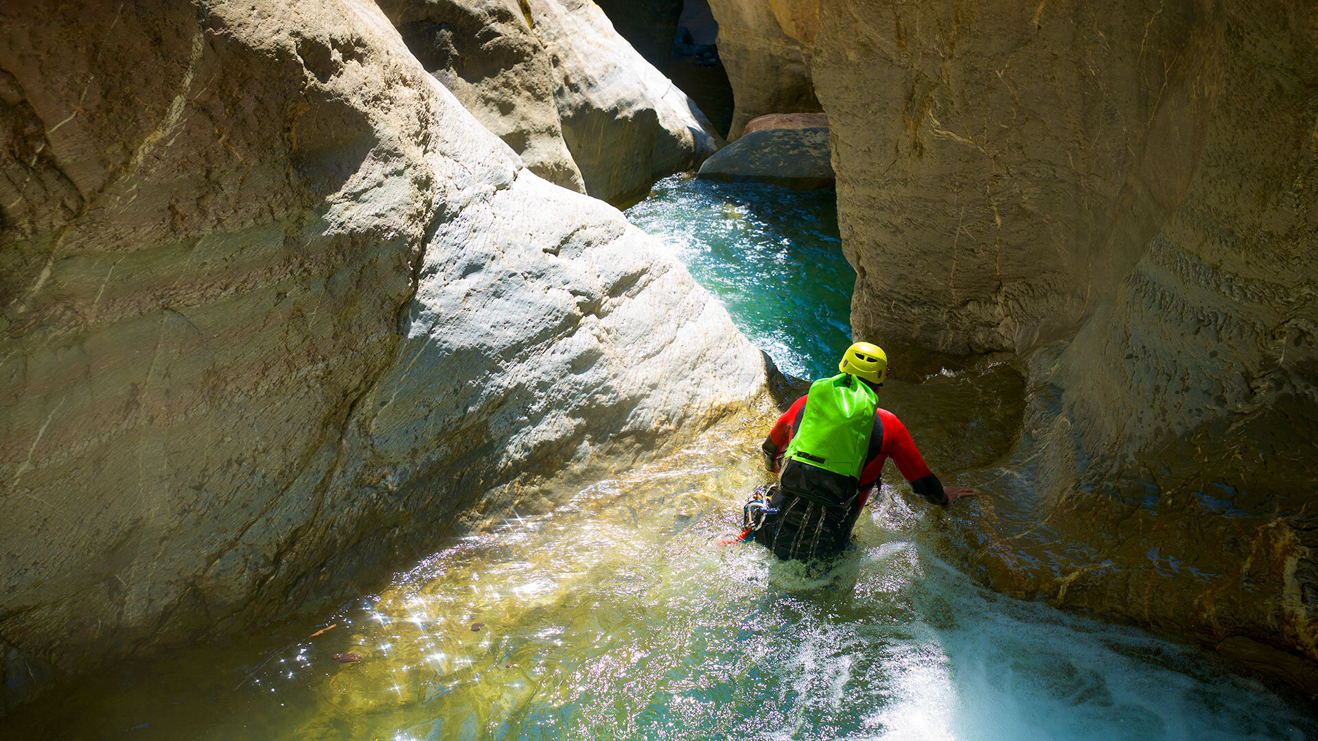 Canyoning dans la Clue du Riolan