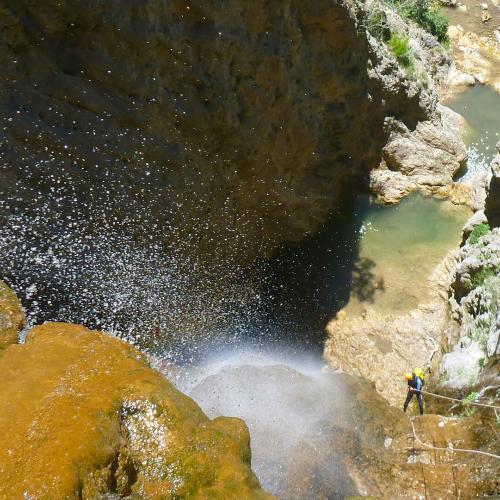 canyoning sportif et vertical dans le Verdon
