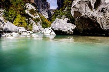 canyoning : élément eau