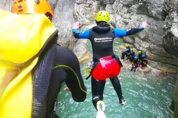 Canyoning dans la Clue de St Auban