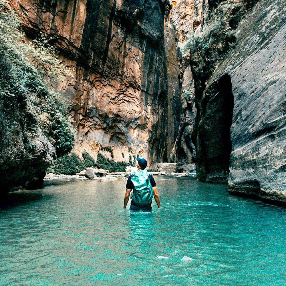 Du canyoning dans les gorges du Verdon