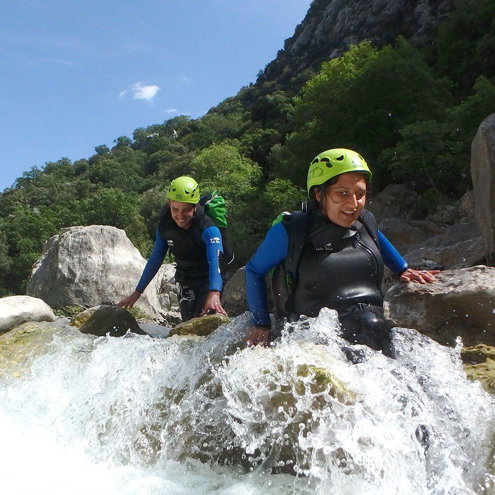 Canyoning dans les gorges du Verdon avec Rocksiders
